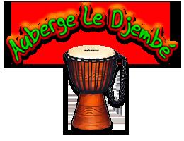 Logo Auberge Le Djembé